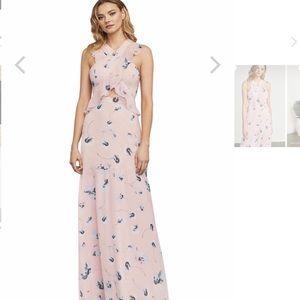 Penelopey Crisscross Ruffle Dress